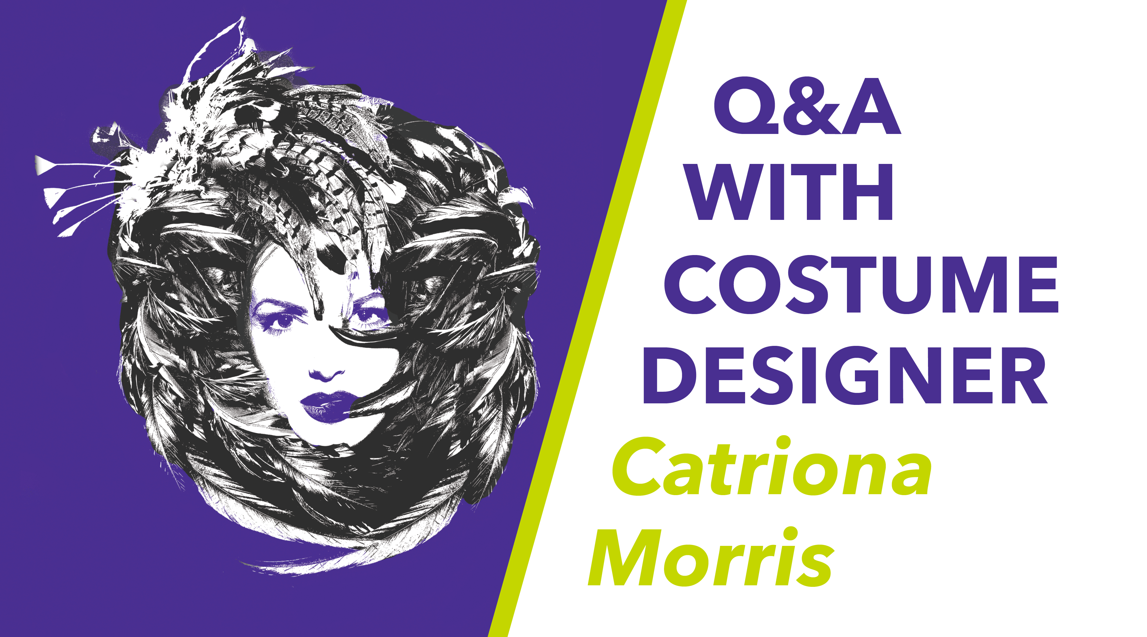 Q&A with Catriona Morris Digital Graphic Header