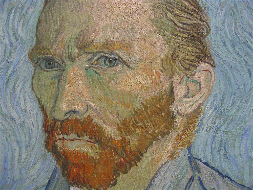 Impressionist portrait of Van Gogh