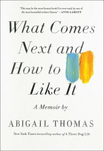 book cover shows a white background with a blue and yellow paint stroke on the right side