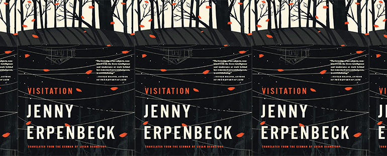 side by side series of the cover of Visitation